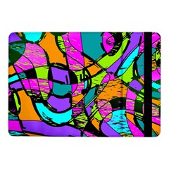 Abstract Art Squiggly Loops Multicolored Samsung Galaxy Tab Pro 10 1  Flip Case by EDDArt