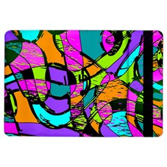 Abstract Art Squiggly Loops Multicolored Ipad Air 2 Flip by EDDArt