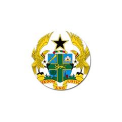 National Seal Of Ghana Golf Ball Marker by abbeyz71