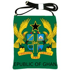 National Seal Of Ghana Shoulder Sling Bags by abbeyz71