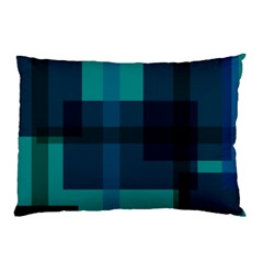 Boxes Abstractly Pillow Case by Amaryn4rt