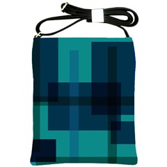 Boxes Abstractly Shoulder Sling Bags by Amaryn4rt