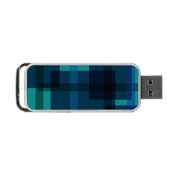 Boxes Abstractly Portable Usb Flash (one Side) by Amaryn4rt