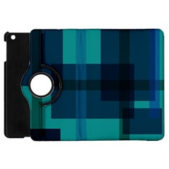 Boxes Abstractly Apple Ipad Mini Flip 360 Case by Amaryn4rt