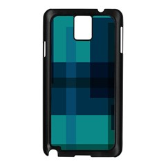 Boxes Abstractly Samsung Galaxy Note 3 N9005 Case (black) by Amaryn4rt