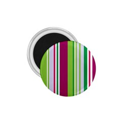 Beautiful Multi Colored Bright Stripes Pattern Wallpaper Background 1 75  Magnets by Amaryn4rt