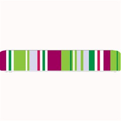 Beautiful Multi Colored Bright Stripes Pattern Wallpaper Background Small Bar Mats by Amaryn4rt