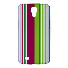 Beautiful Multi Colored Bright Stripes Pattern Wallpaper Background Samsung Galaxy Mega 6 3  I9200 Hardshell Case by Amaryn4rt