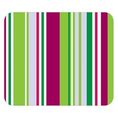 Beautiful Multi Colored Bright Stripes Pattern Wallpaper Background Double Sided Flano Blanket (small)  by Amaryn4rt