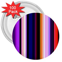 Fun Striped Background Design Pattern 3  Buttons (100 Pack)  by Amaryn4rt