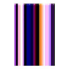 Fun Striped Background Design Pattern Shower Curtain 48  X 72  (small)  by Amaryn4rt