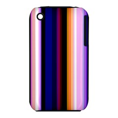 Fun Striped Background Design Pattern Iphone 3s/3gs by Amaryn4rt