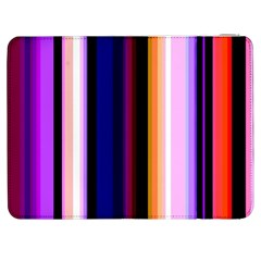 Fun Striped Background Design Pattern Samsung Galaxy Tab 7  P1000 Flip Case by Amaryn4rt