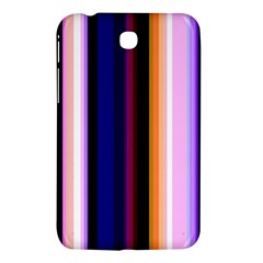 Fun Striped Background Design Pattern Samsung Galaxy Tab 3 (7 ) P3200 Hardshell Case  by Amaryn4rt