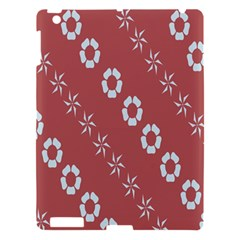Abstract Pattern Background Wallpaper In Pastel Shapes Apple Ipad 3/4 Hardshell Case by Amaryn4rt