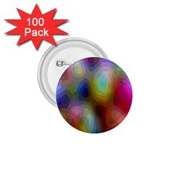 A Mix Of Colors In An Abstract Blend For A Background 1 75  Buttons (100 Pack)  by Amaryn4rt