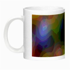 A Mix Of Colors In An Abstract Blend For A Background Night Luminous Mugs by Amaryn4rt