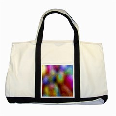 A Mix Of Colors In An Abstract Blend For A Background Two Tone Tote Bag