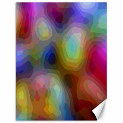 A Mix Of Colors In An Abstract Blend For A Background Canvas 18  X 24   by Amaryn4rt