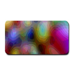 A Mix Of Colors In An Abstract Blend For A Background Medium Bar Mats by Amaryn4rt