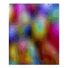 A Mix Of Colors In An Abstract Blend For A Background Shower Curtain 60  X 72  (medium)  by Amaryn4rt