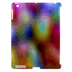 A Mix Of Colors In An Abstract Blend For A Background Apple Ipad 3/4 Hardshell Case (compatible With Smart Cover)