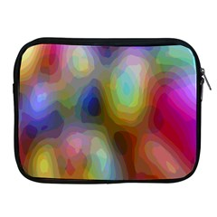 A Mix Of Colors In An Abstract Blend For A Background Apple Ipad 2/3/4 Zipper Cases by Amaryn4rt