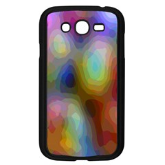 A Mix Of Colors In An Abstract Blend For A Background Samsung Galaxy Grand Duos I9082 Case (black) by Amaryn4rt
