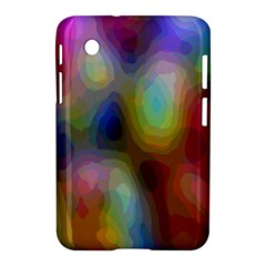 A Mix Of Colors In An Abstract Blend For A Background Samsung Galaxy Tab 2 (7 ) P3100 Hardshell Case