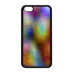 A Mix Of Colors In An Abstract Blend For A Background Apple Iphone 5c Seamless Case (black) by Amaryn4rt