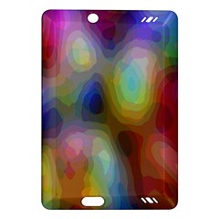 A Mix Of Colors In An Abstract Blend For A Background Amazon Kindle Fire Hd (2013) Hardshell Case by Amaryn4rt