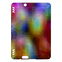 A Mix Of Colors In An Abstract Blend For A Background Kindle Fire HDX Hardshell Case