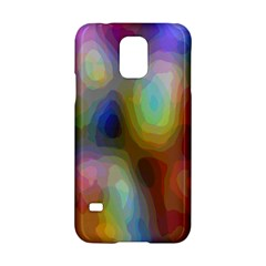 A Mix Of Colors In An Abstract Blend For A Background Samsung Galaxy S5 Hardshell Case  by Amaryn4rt