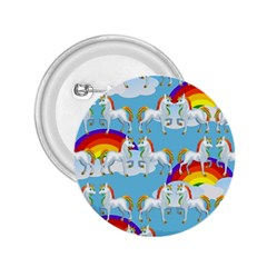 Rainbow Pony  2 25  Buttons by Valentinaart