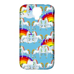 Rainbow Pony  Samsung Galaxy S4 Classic Hardshell Case (pc+silicone) by Valentinaart