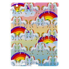 Rainbow Pony  Apple Ipad 3/4 Hardshell Case (compatible With Smart Cover) by Valentinaart