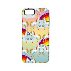 Rainbow Pony  Apple Iphone 5 Classic Hardshell Case (pc+silicone) by Valentinaart