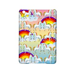Rainbow Pony  Ipad Mini 2 Hardshell Cases by Valentinaart