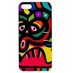 A Seamless Crazy Face Doodle Pattern Apple Iphone 5 Hardshell Case With Stand by Amaryn4rt