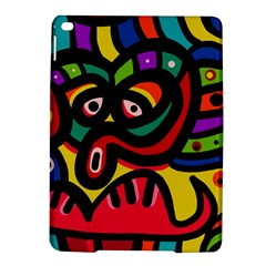 A Seamless Crazy Face Doodle Pattern Ipad Air 2 Hardshell Cases by Amaryn4rt