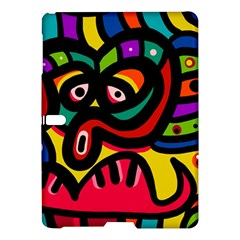 A Seamless Crazy Face Doodle Pattern Samsung Galaxy Tab S (10 5 ) Hardshell Case  by Amaryn4rt