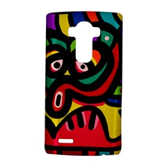 A Seamless Crazy Face Doodle Pattern Lg G4 Hardshell Case by Amaryn4rt