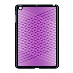 Abstract Lines Background Apple Ipad Mini Case (black) by Amaryn4rt