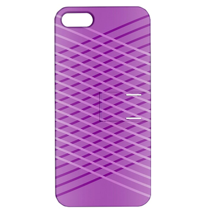 Abstract Lines Background Apple iPhone 5 Hardshell Case with Stand