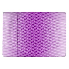 Abstract Lines Background Samsung Galaxy Tab 10 1  P7500 Flip Case