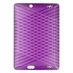 Abstract Lines Background Amazon Kindle Fire Hd (2013) Hardshell Case by Amaryn4rt