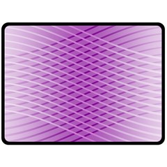Abstract Lines Background Double Sided Fleece Blanket (large)  by Amaryn4rt