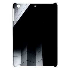 Wall White Black Abstract Apple Ipad Mini Hardshell Case by Amaryn4rt