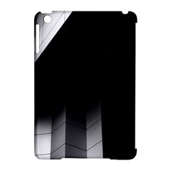 Wall White Black Abstract Apple Ipad Mini Hardshell Case (compatible With Smart Cover) by Amaryn4rt