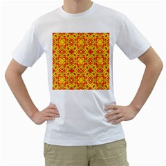 Pattern Men s T Shirt (white)  by Valentinaart
